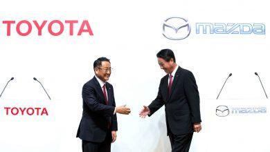 Mazda, Denso и Toyota