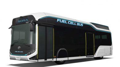 Toyota автобус со горивни ќелии