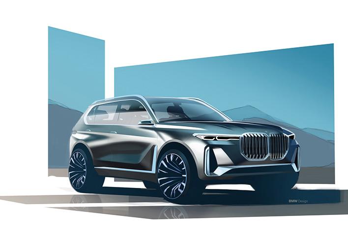 BMW планира да лансира големо кросовер купе X8