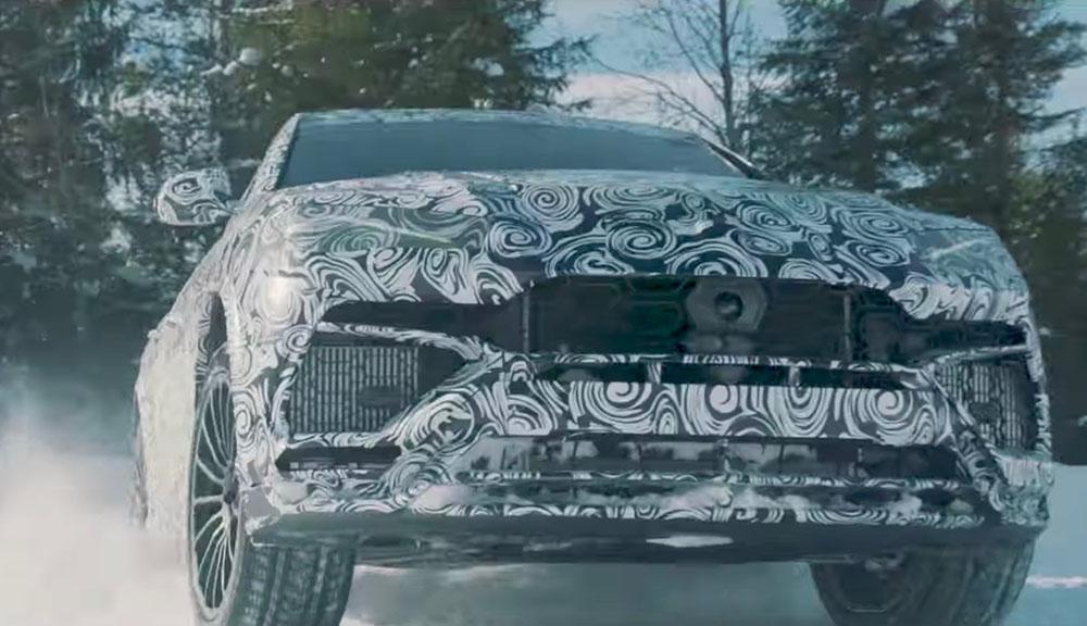 Lamborghini Urus  режим снег