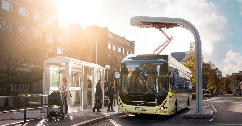 електрични автобуси