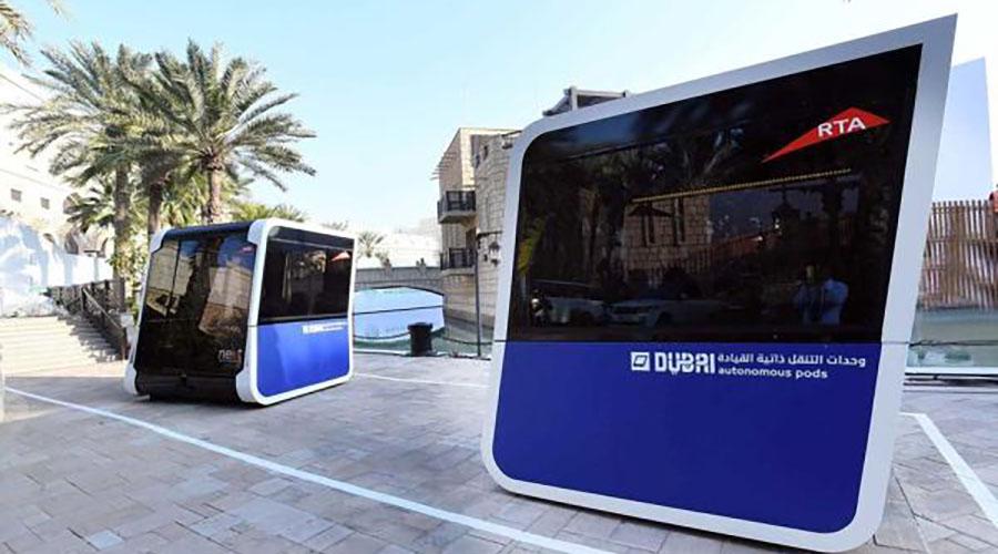 Дубаи започнува со јавен транспорт од иднината