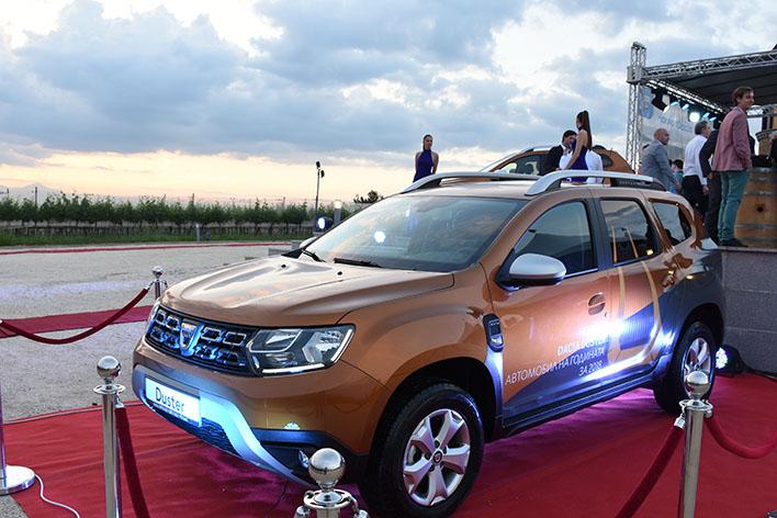 Автомобил на годината за 2018