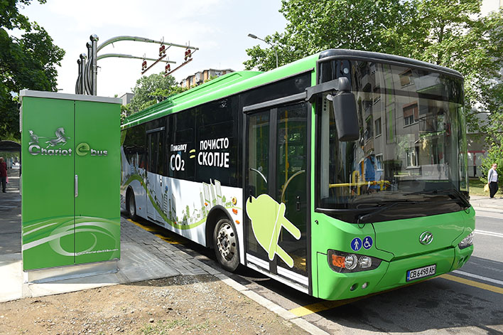 Електричен автобус