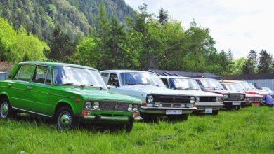 Photo of Classic Car Club of Pacific со советски автомобили во САД