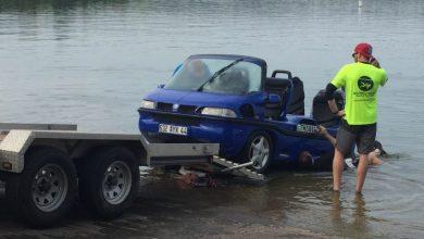 Photo of Единствен автомобил-амфибија, Hobbycar потона во езеро