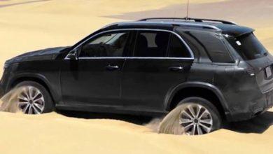 Photo of Новиот Mercedes GLE лесно ќе се справи со песочните препреки