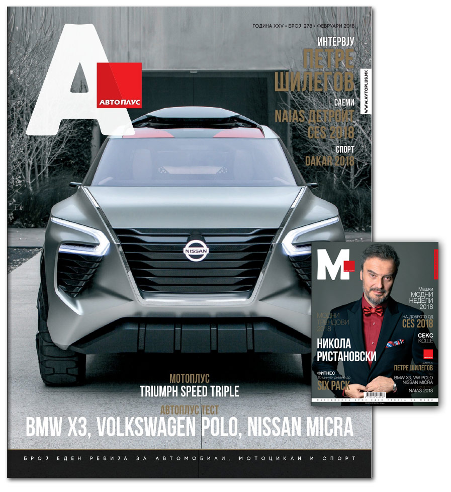 Авто Плус - М Магазин 278 февруари 2018