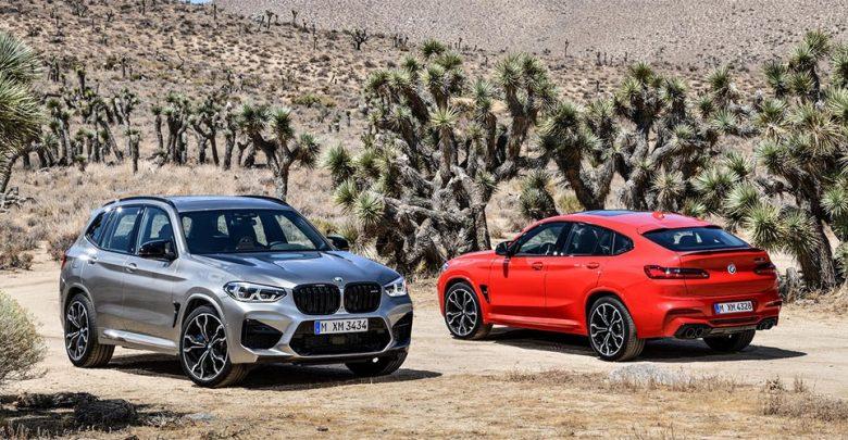 BMW X3 M Competition и BMW X4 M Competition