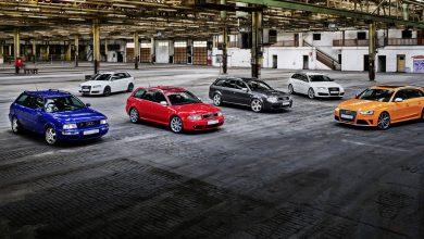 Photo of Audi Sport прославува 25 години од RS моделите