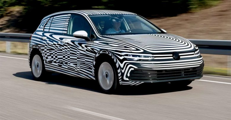 VW Golf 8 teaser