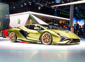 Lamborghini Sián IAA 2019 1