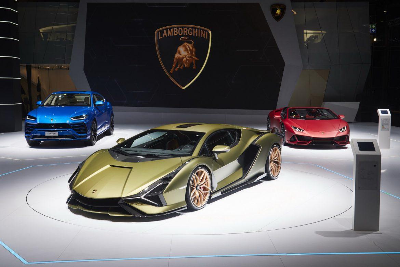 Lamborghini Sián IAA 2019