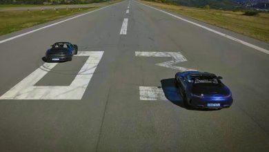 Photo of Mercedes-AMG GT C Roadster против Porsche 911 4S Cabrio