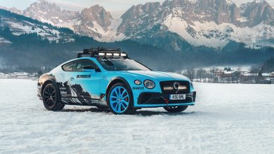 Photo of Bentley со специјална зимска верзија на Continental GT за GP Ice Race