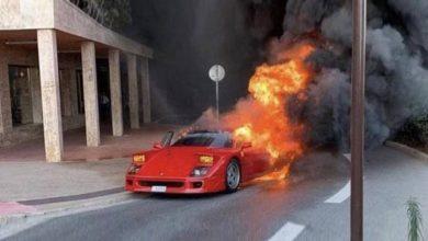 Photo of Викенд тарифа: Ferrari F40 во пламен на улиците во Монако