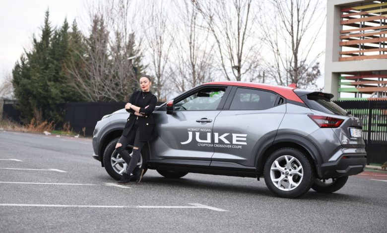 Elena Risteska Nissan Juke