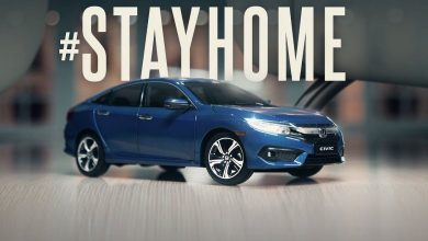 Photo of Иновативна реклама за Honda Civic за време на карантин