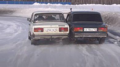 Photo of Викенд тарифа: Руси заварија два автомобили за снежни лудории