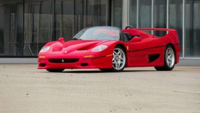 Photo of Ferrari F50 од Салонот во Франкфурт од 1995 оди на продажба