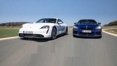 Photo of Викенд тарифа: Драг трка меѓу Porsche Taycan Turbo S и BMW M8