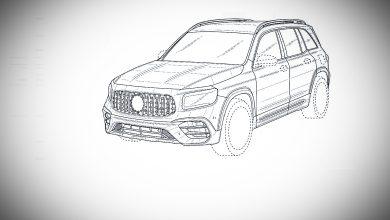 """Photo of Патентните скици за Mercedes-AMG GLB 45 """"протекоа"""" во јавноста"""