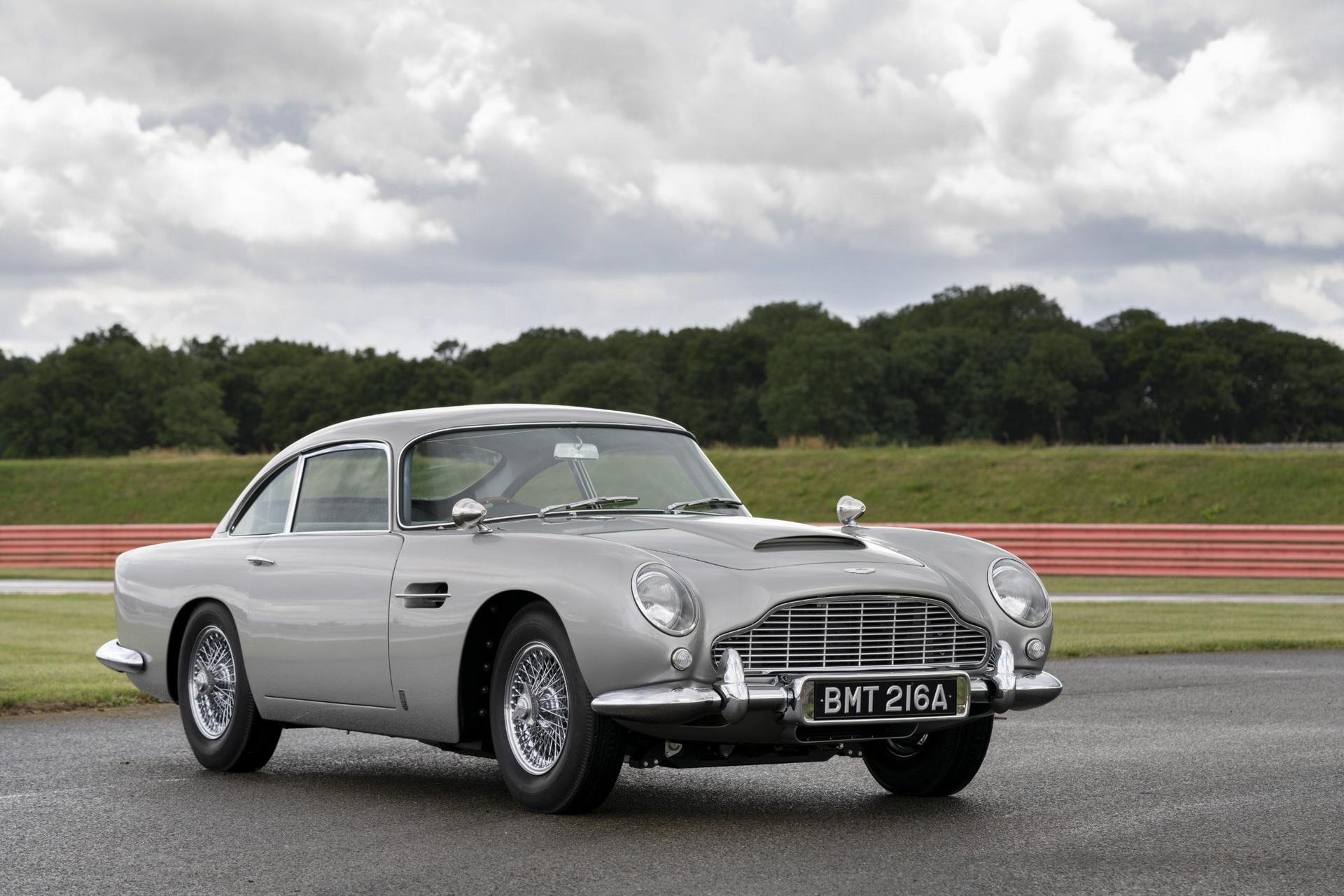 Произведен првиот Aston Martin DB5 по цели 55 години