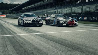 Photo of BMW објави нови фотографии од M4 заедно со M4 GT3