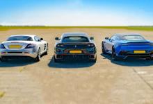 Photo of Викенд тарифа: Mercedes SLR McLaren, Ferrari GTC4 и Aston Martin DBS во драг битка