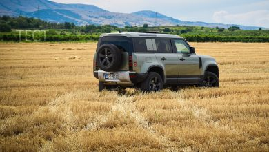 test Land Rover Defender Avto Plus