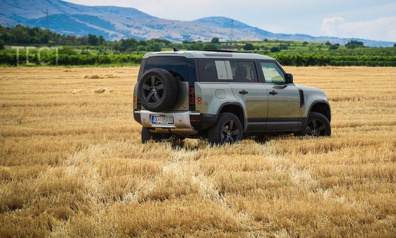 test Land Rover Defender Avto Plus