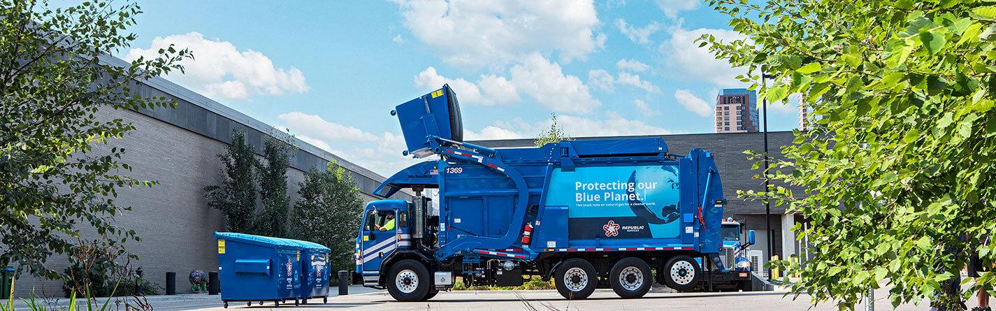 Nikola-Garbage-Truck