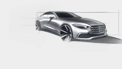 Photo of Mercedes објави официјален цртеж за новата S Класа