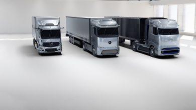 Photo of Mercedes ги претстави водородниот GenH2 и електричниот Actross