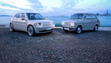 Photo of Fiat 126 во модерна изведба со електричен погон