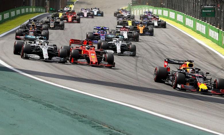Formula 1 календар