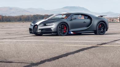 Photo of Bugatti Chiron Sport Les Légendes du Ciel во чест на тркачките легенди