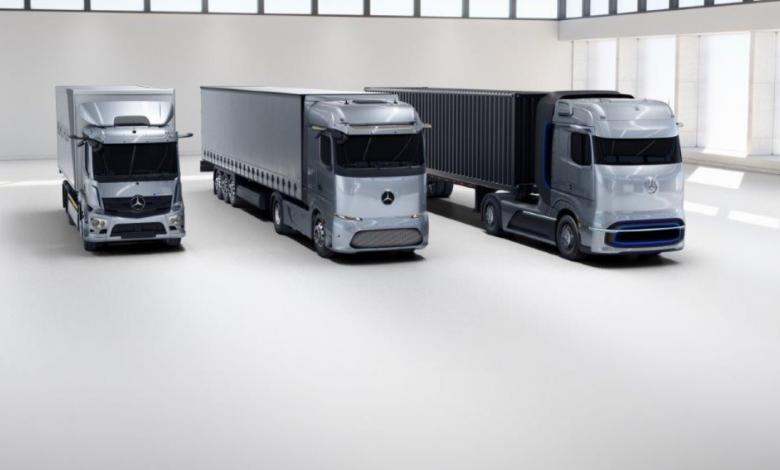 Mercedes камиони
