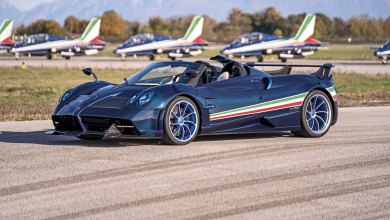 Photo of Pagani Huayra Tricolore во чест на Frecce Tricolori