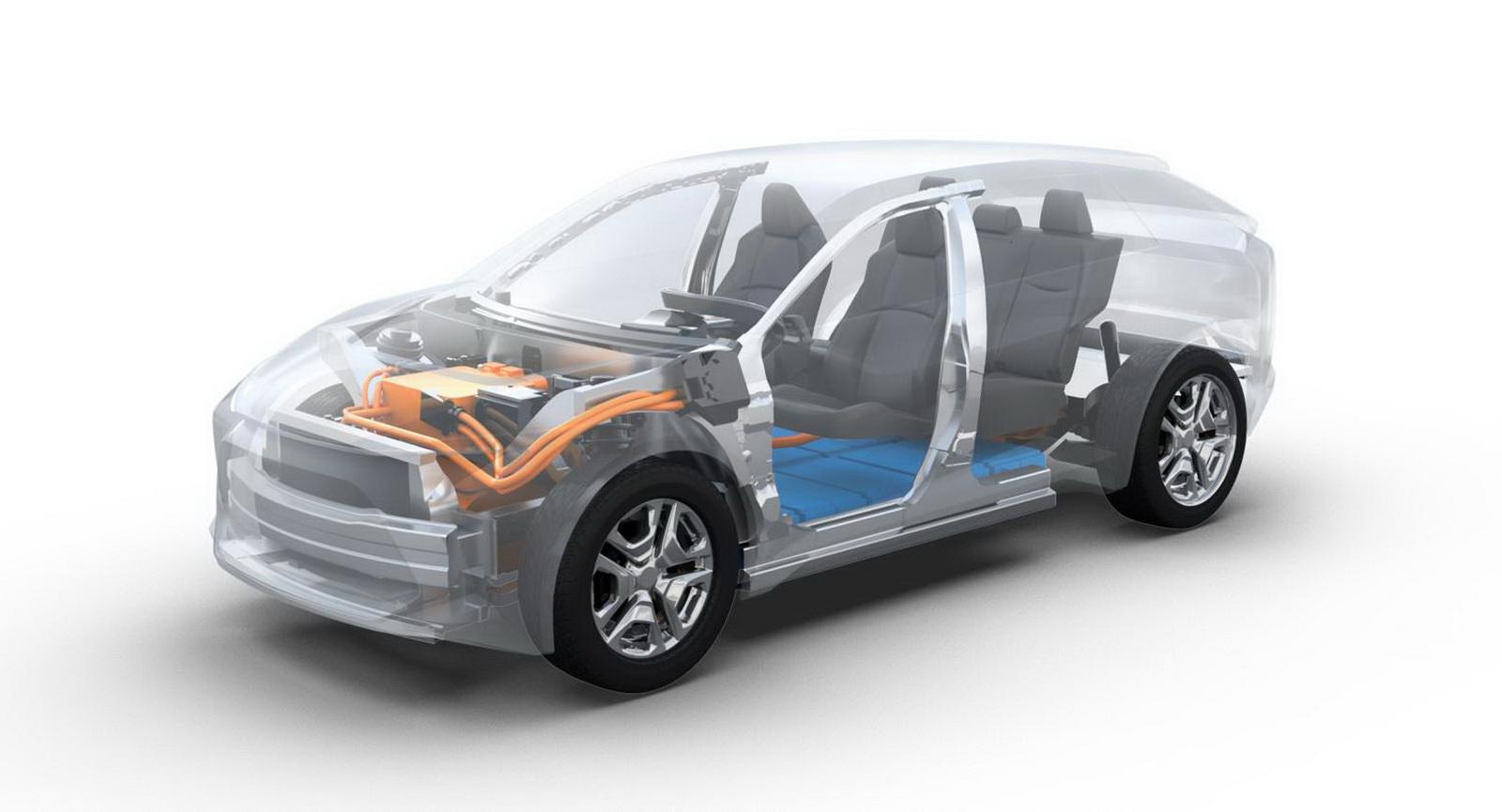Toyota анонсировала новый электрический внедорожник