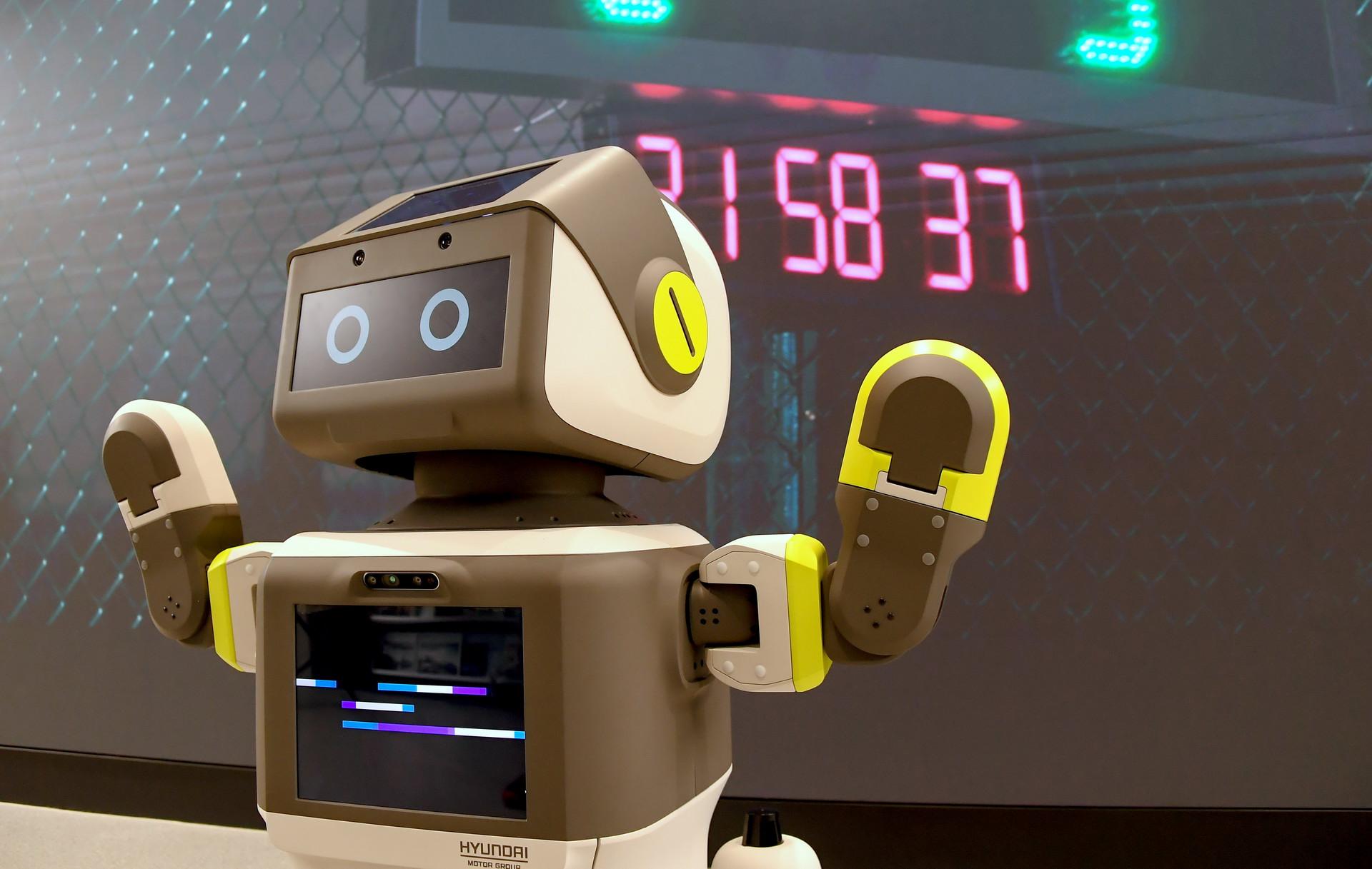 Hyundai покажет свого DAL-e робот для обслуживания клиентов