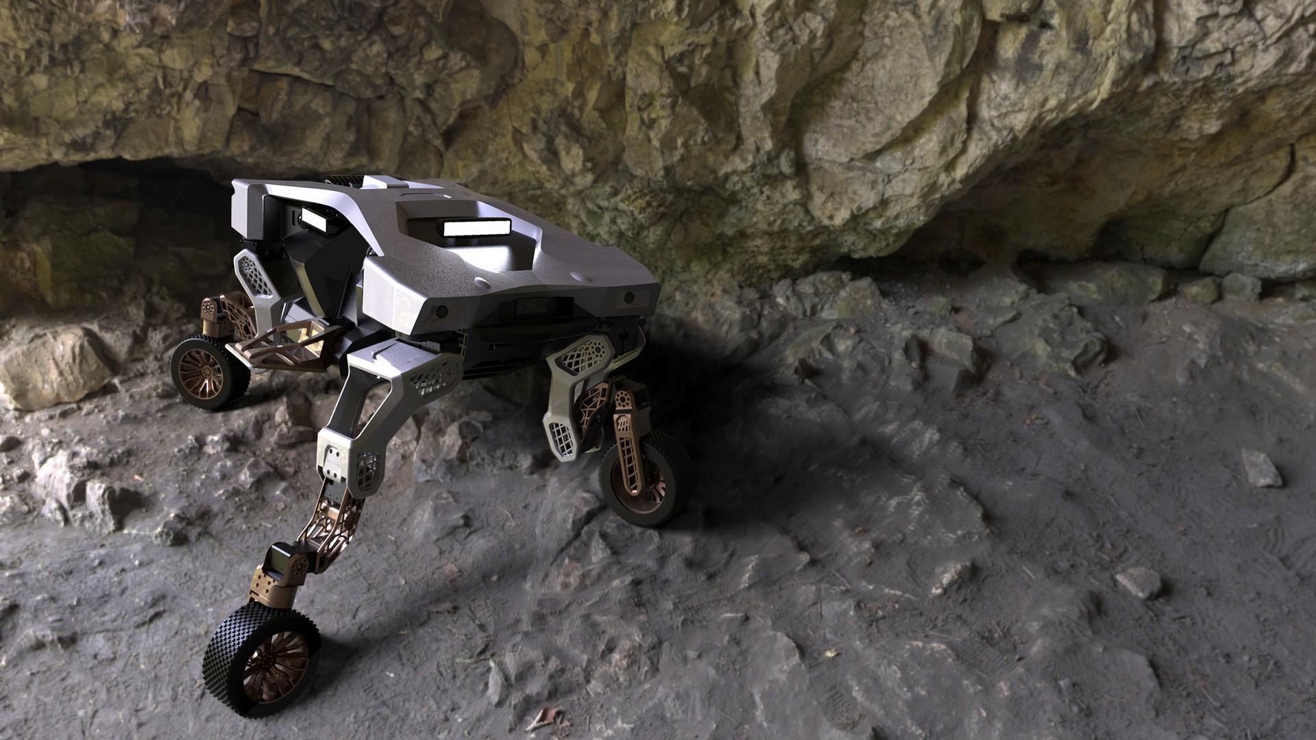 Hyundai Tiger - робот, покоряющий все бездорожья