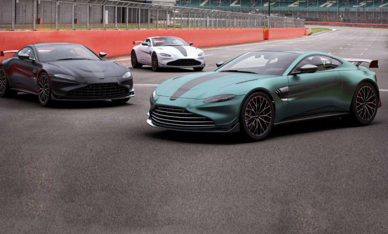 Aston Martin Vantage получил специальную версию F1 Edition